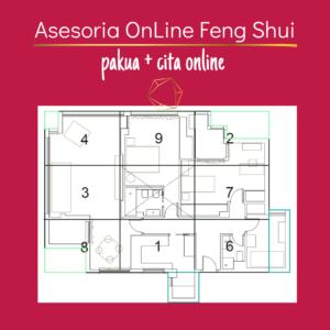 Asesoría online FengShui y PaKua