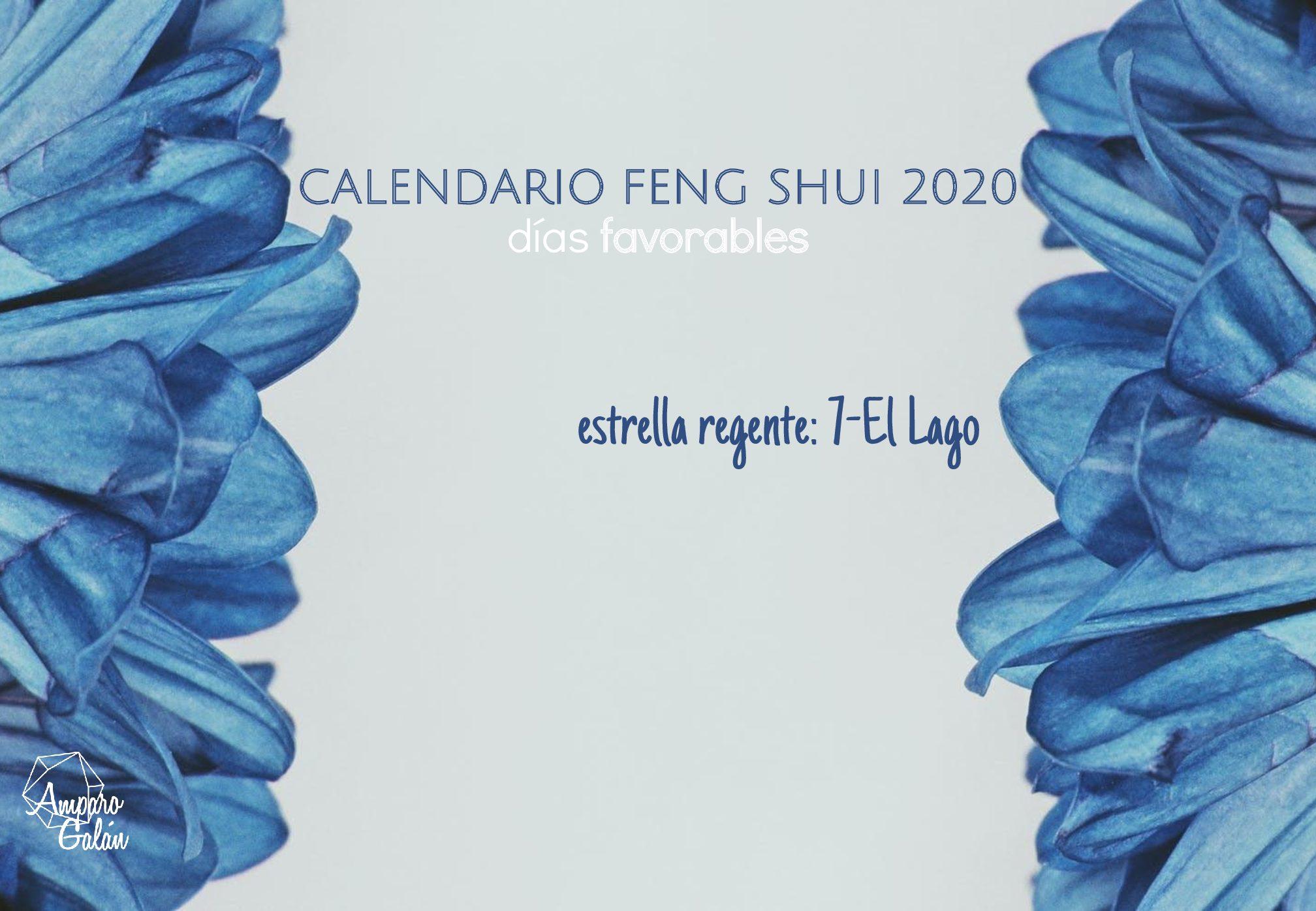 Calendario Feng Shui 2020