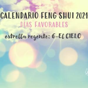 Calendario Feng Shui 2021